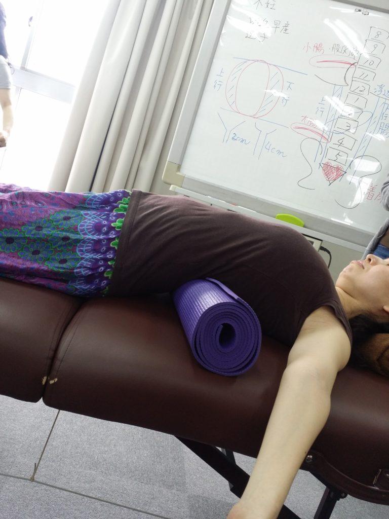 妊産婦整体タオルケア1