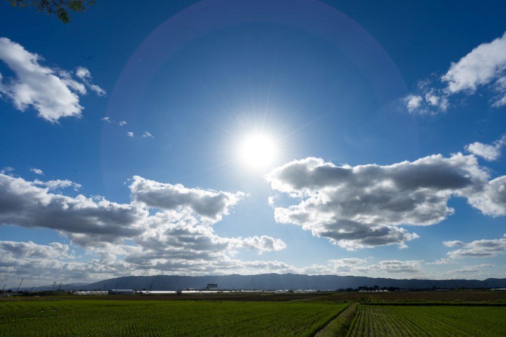 お空とお日様