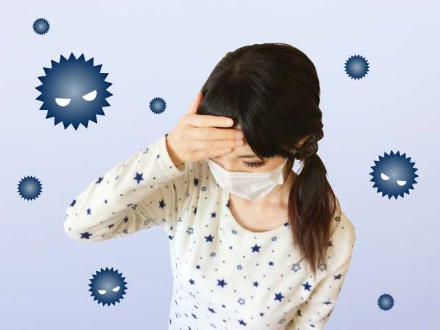 感染症(風邪や胃腸炎など)とアロマテラピー